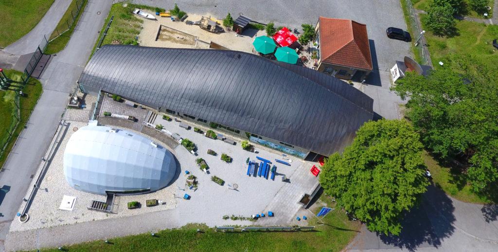 Haus am Strom Luftbild (Foto: salzluft.net)